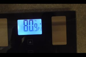 鬱病の体重80.9kg