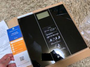 etekiの体重計と保証書